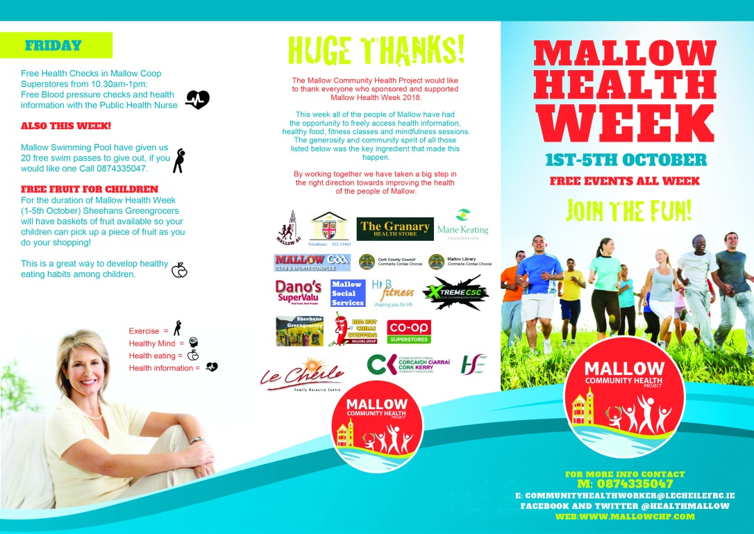 Mallow health week front