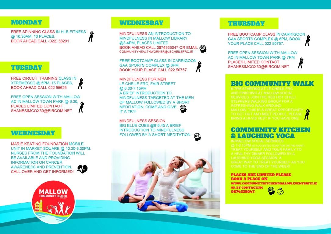Mallow Health Week Inside